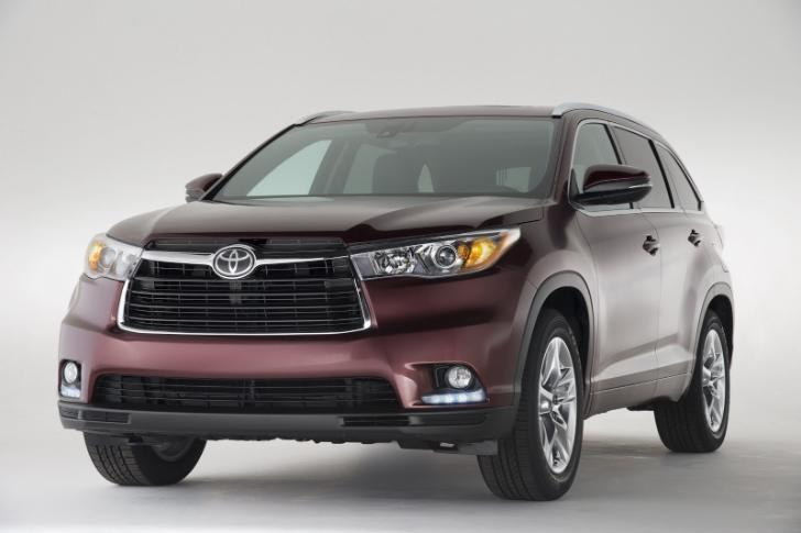 The redesigned 2014 Toyota Highlander.