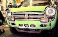 Original Honda N600 restored, honors brand's success