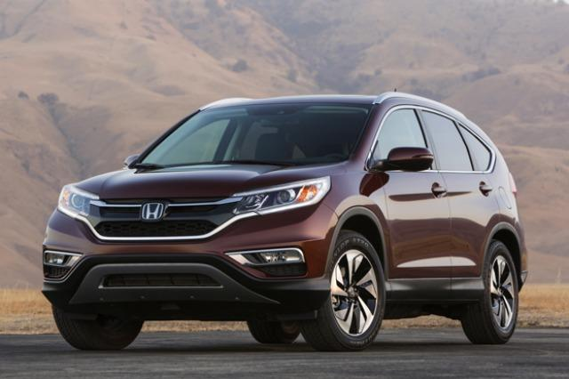 The redesigned 2015 Honda CR-V is part of th nre podfact bl