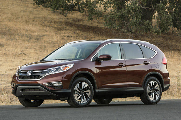 The 2015 Honda CR-V has been recallled faulty aobagd