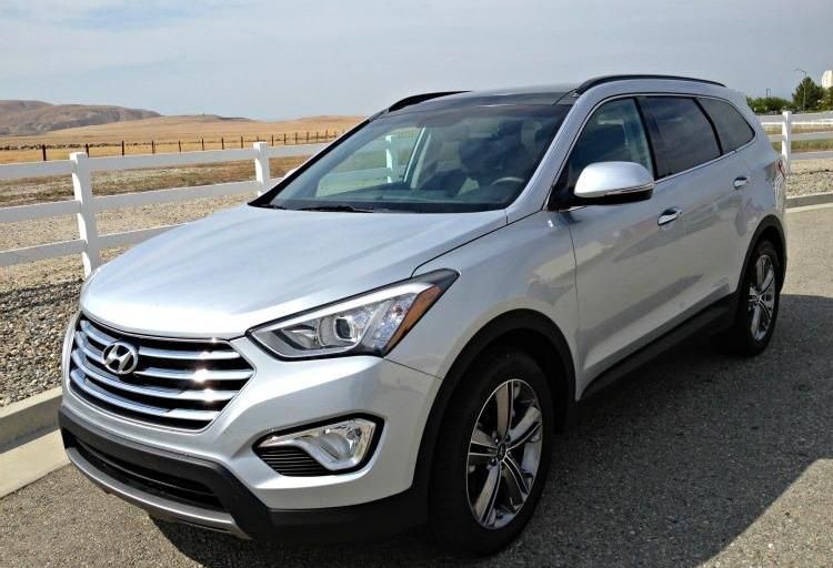Driving the Tour of California #2: It's time for The Grapevine in a 2013 Hyundai Santa Fe