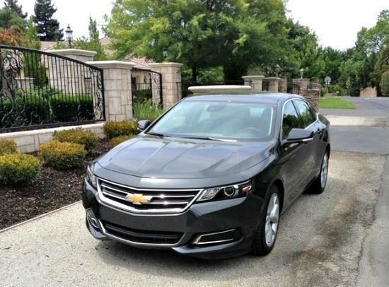 The 2014 Chevrolet Impala has been redesigned