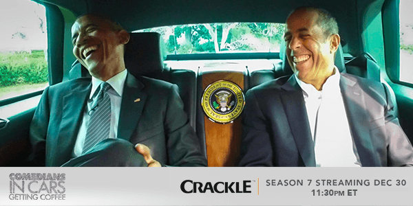 President Barack Obama will be Jerry Seinfeld first guest in the seventh season of Comedians In Cars Getting Coffee.