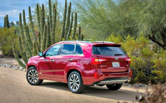 Restyled for 2014, the Kia Sorento is strong SUV competitor.