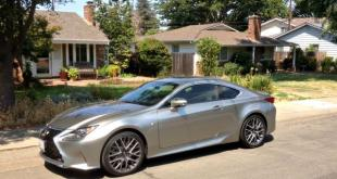 The 2016 Lexus RC 200t has a refined sports car design inside and outside.