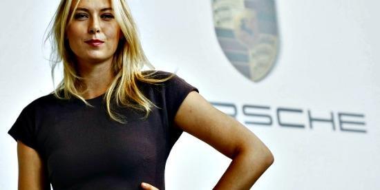 New Porsche ambassador Maria Sharapova