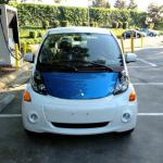 Recharging the Mitsubishi i-MIEV