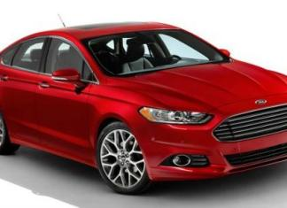 The 2013 Ford Fusion has European styling.