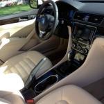 The 2014 Volkswagen Passat has a handsome interior.