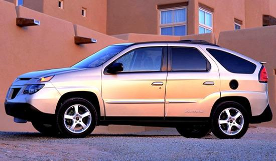 2002 Pontiac Aztek: Worst Car in history.