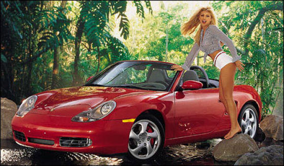Playmates of the Year are awarded a free car.