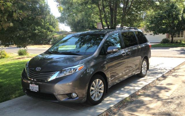 2009 Toyota Sienna part of massive three-manufacturer recall.