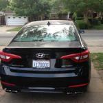 The 2015 Hyundai Sonata offers a new interior and exterior design.