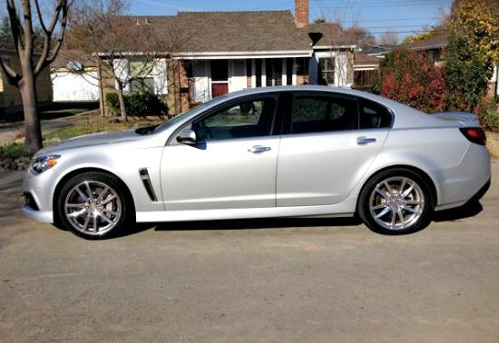 2014 Chevrolet SS: Muscle car, family sedan and fast