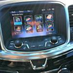 The navigation system on the 2014 Chevrolet SS is clean and intuitive.