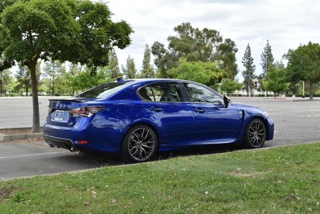 2016 Lexus GS-F: Luxury, performance, attitude