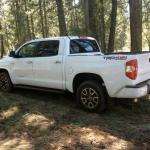 The newly designed 2014 Toyota Tundra.