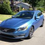 The new sleek look of the 2015 Volvo V60 T5 wagon.