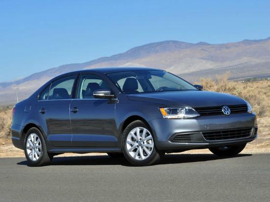 The 2014 Volkswagen Jetta.