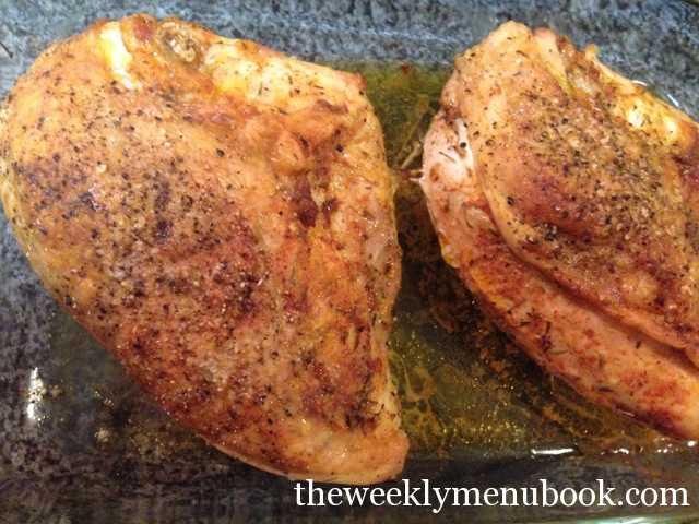 Roasted Cajun Chicken
