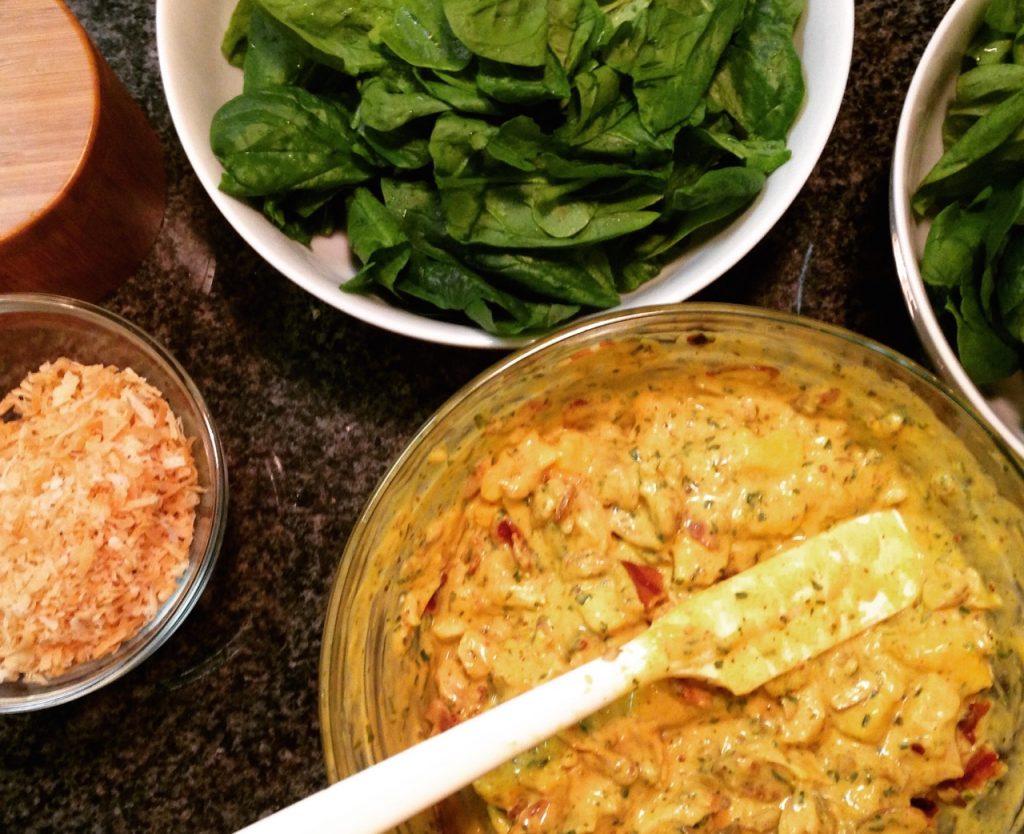 Gluten-Free, Dairy-Free Mango Chutney Chicken Salad