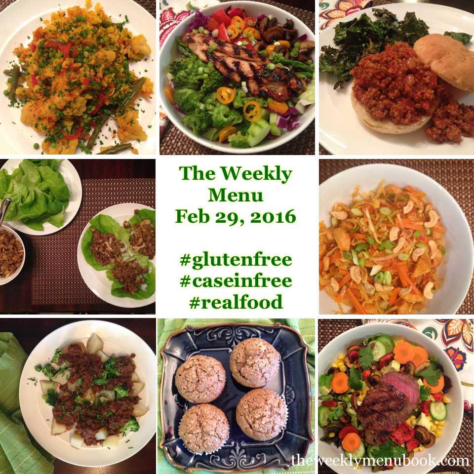 The Weekly Menu Feb 29