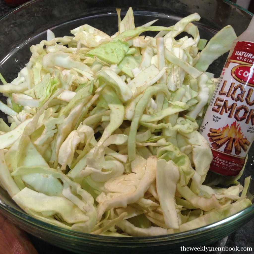 Smoked Cabbage Slaw 1