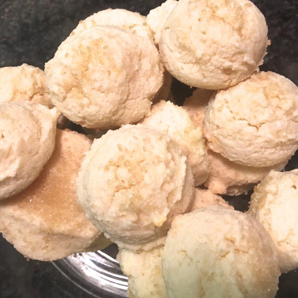 gluten-free dairy-free lemon ricotta cookies made with Kite Hill vegan ricotta
