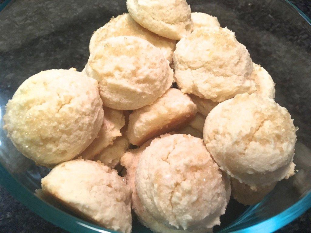 GlutenFree Lemon Ricotta Cookies