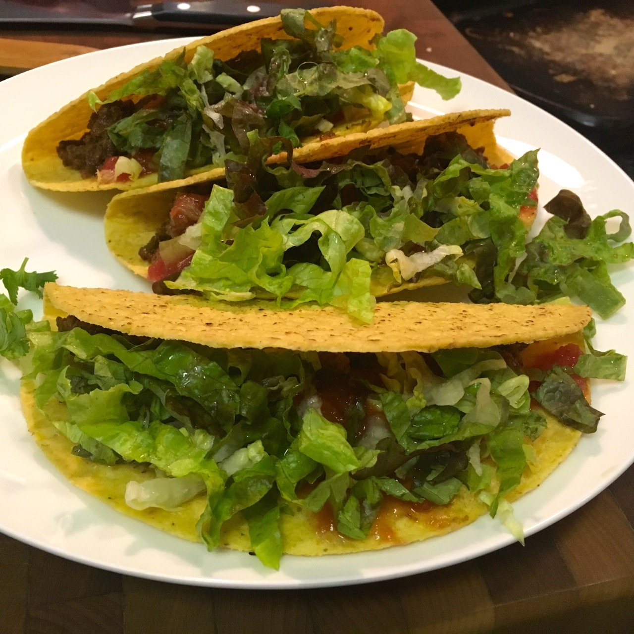 gluten-free bison tacos for healthified taco night