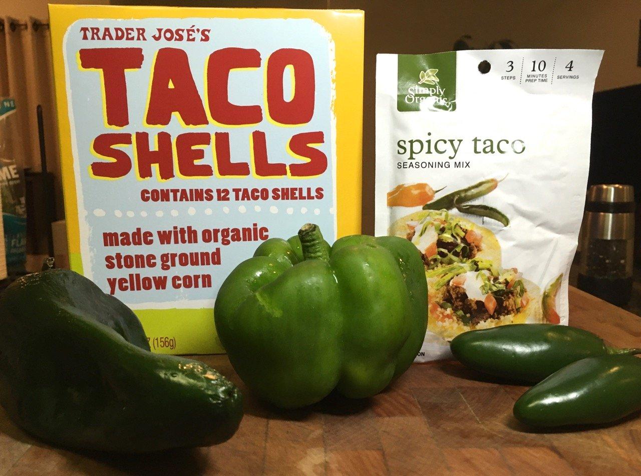 trader joe's organic taco shells