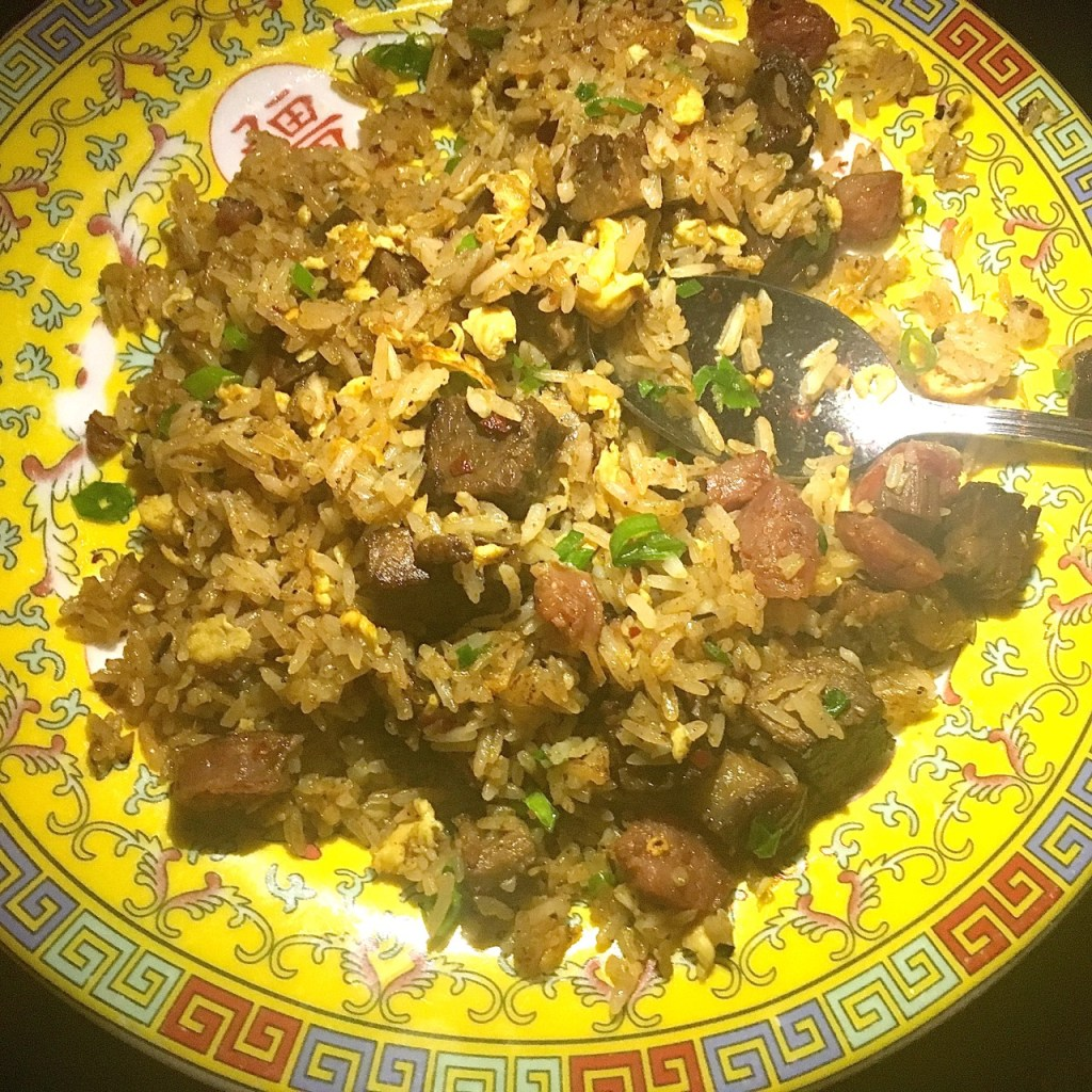 Old Thousand Brisket Fried Rice