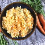 mom's sweet carrot rice, gluten-free, dairy-free, vegan