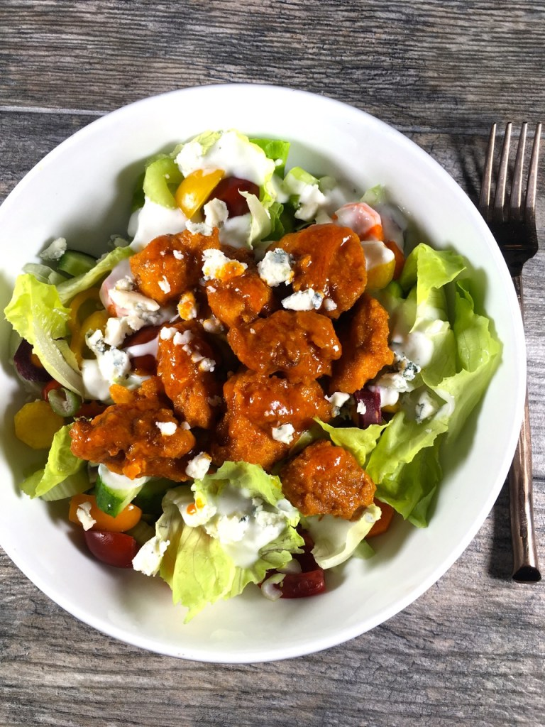 Blue ChBlue Cheese Buffalo Chicken Salad