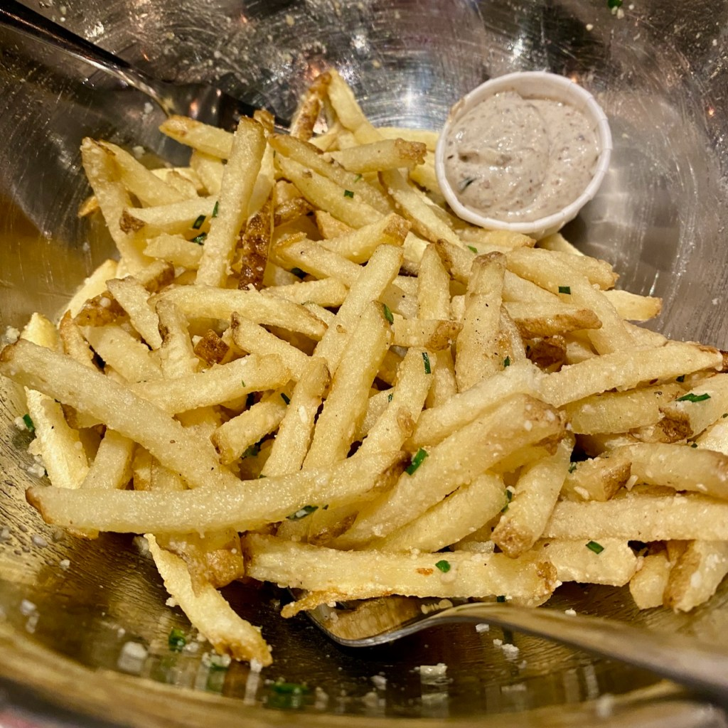 Parmesan Truffle Fries at Hopdoddy