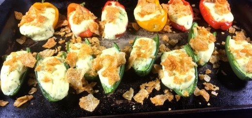 Vegetarian Jalapeno Poppers