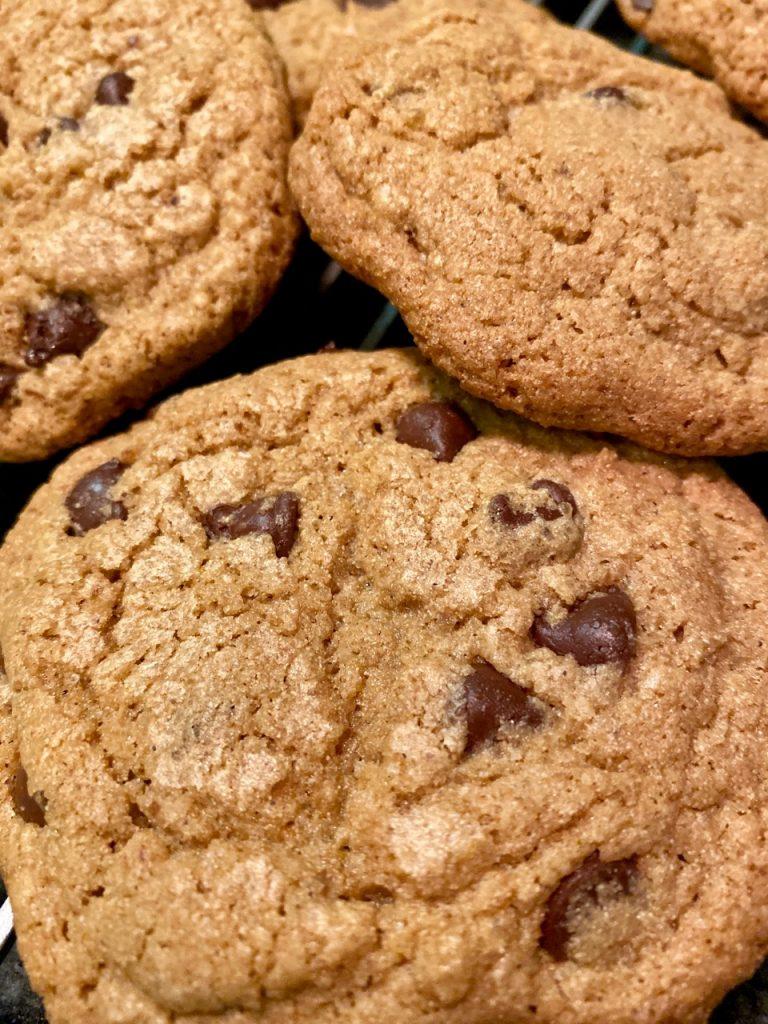 Brown Sugar Chewy Chocolate Chip Cookies | Gluten-Free, Goat's Milk