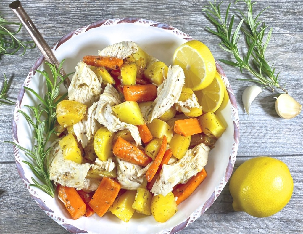 Lemon Garlic Chicken and Potatoes
