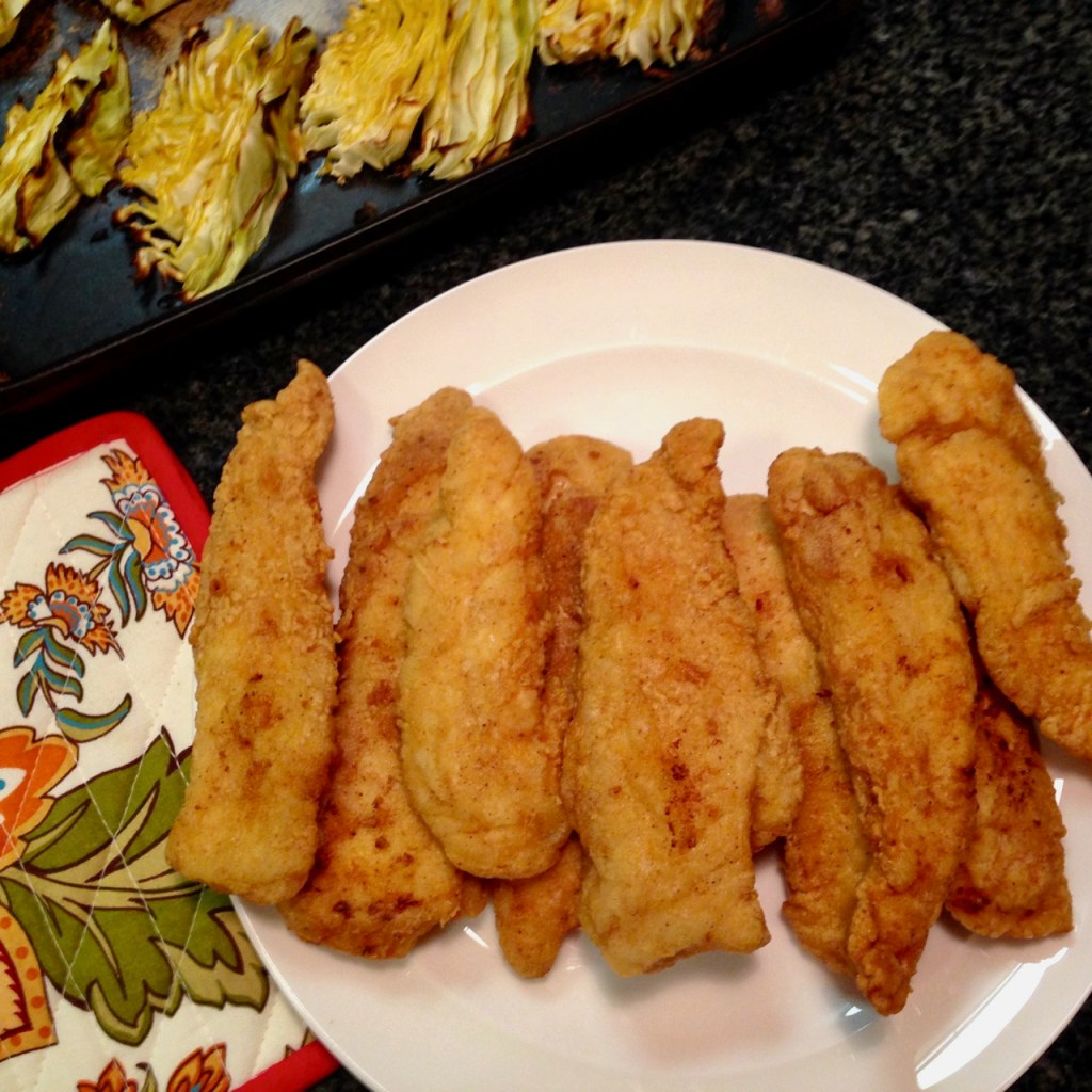 fried gluten free chicken tenders