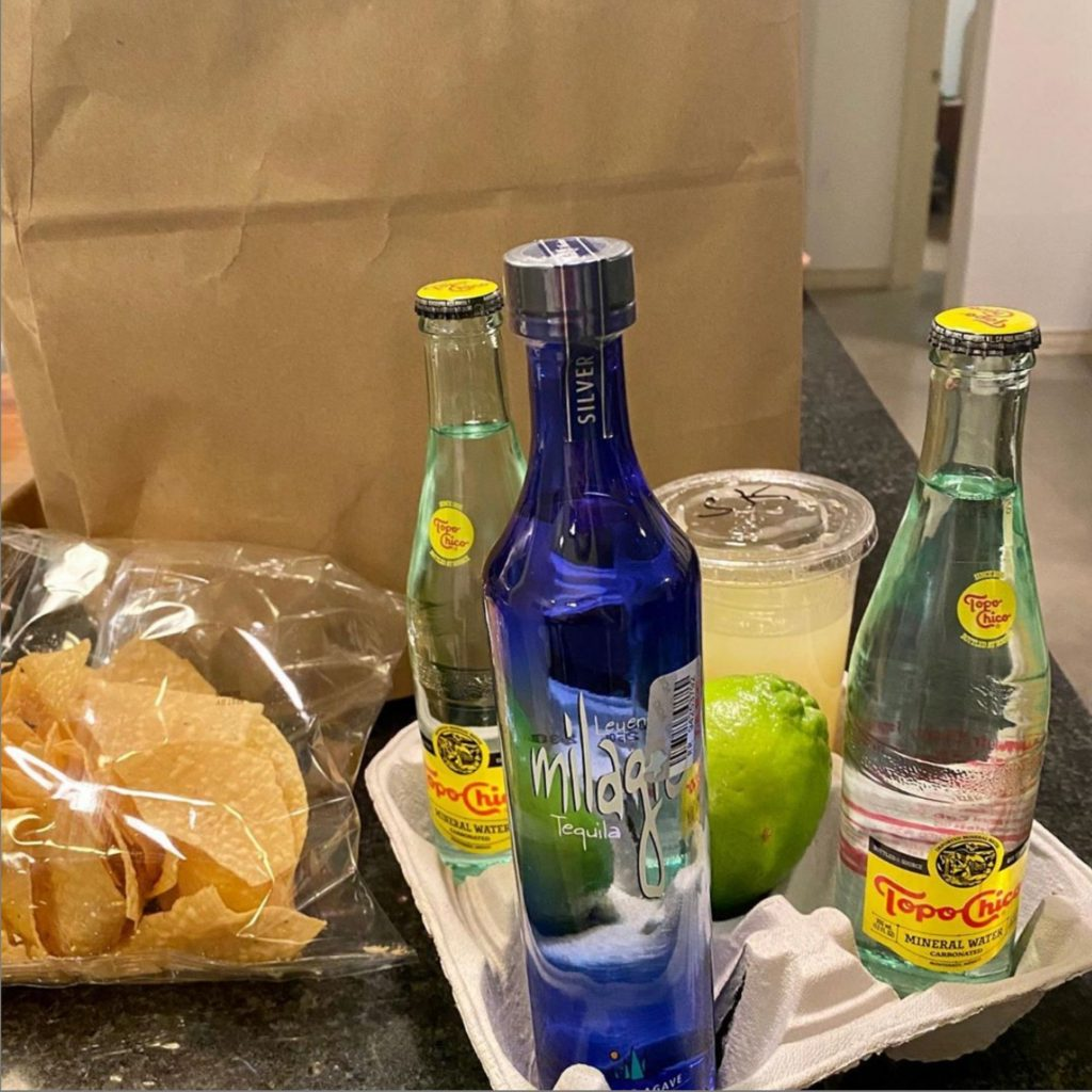 Margarita Kit and Take Out from Maudie's Tex-Mex