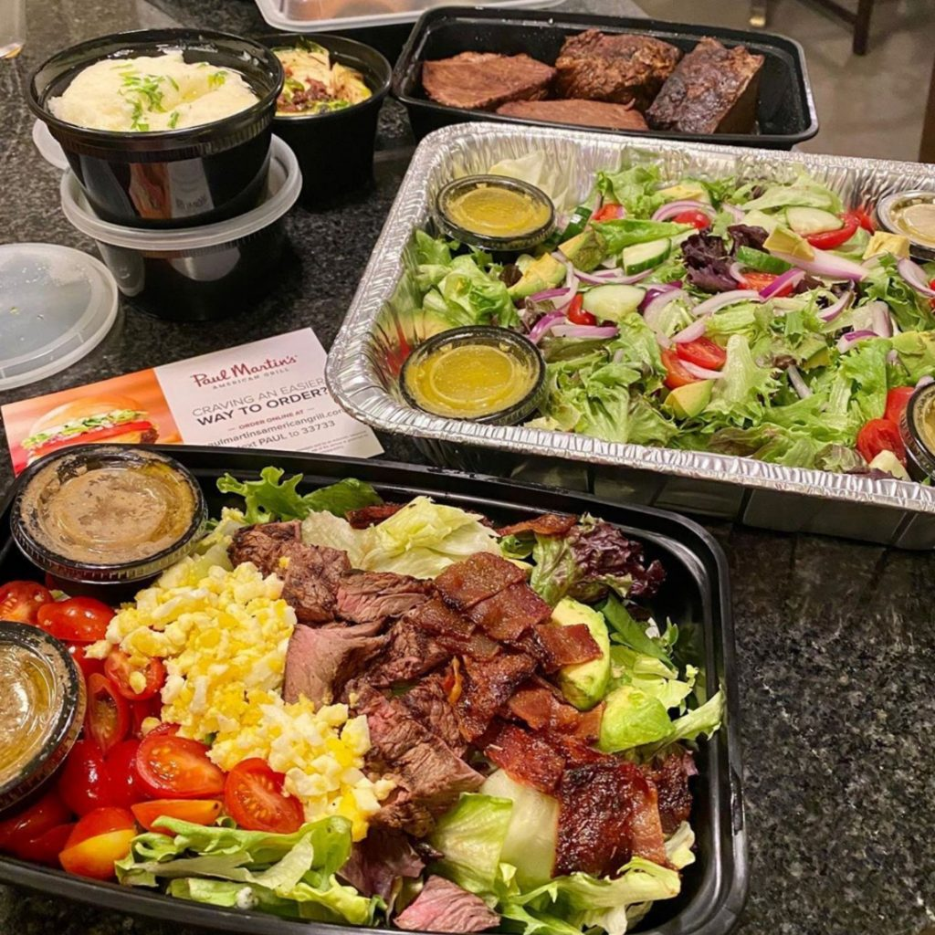 Austin Gluten-free Curbside To-Go Family Meals from Paul Martin's American Grill