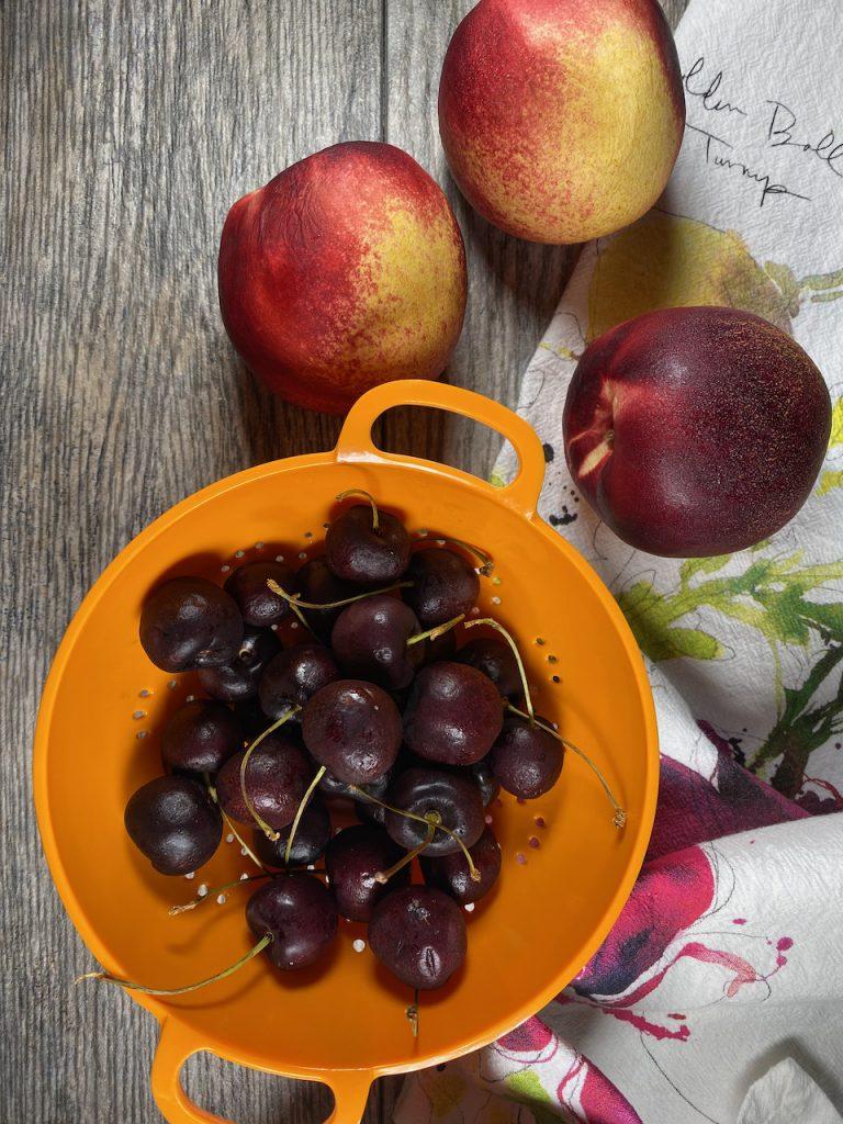 Cherries & Ripe Nectarines