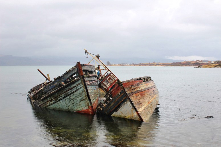 Salen boats, Isle of Mull