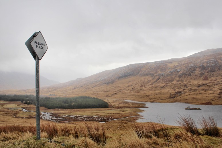 Passing place, Isle of Mull