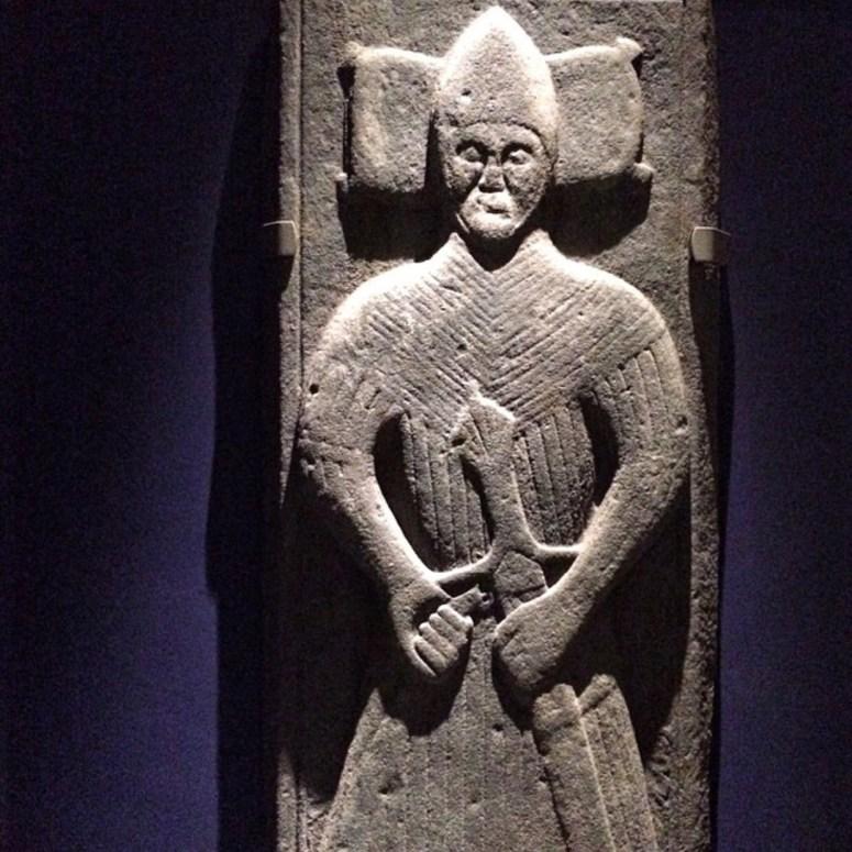 Medieval grave slab, Iona