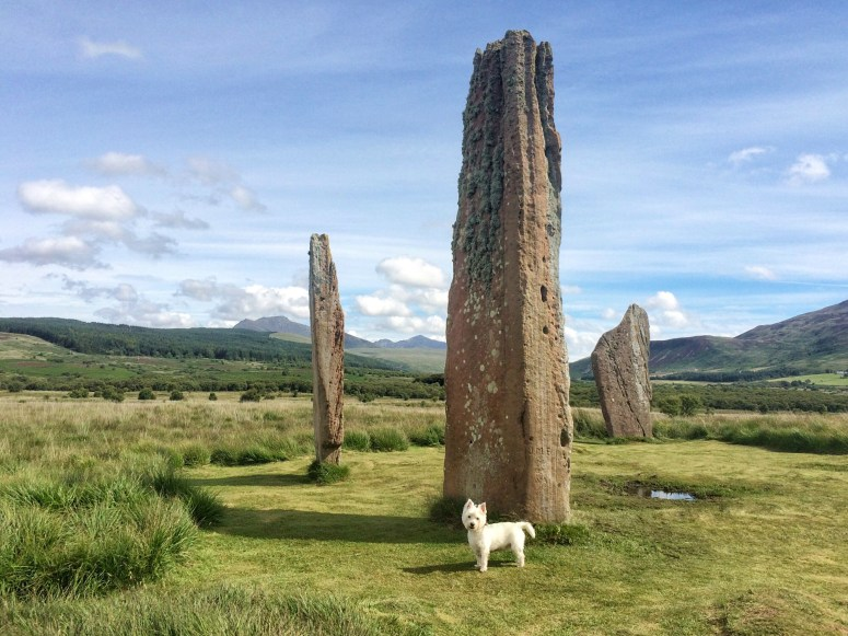 Machrie Moor stone circle, Arran