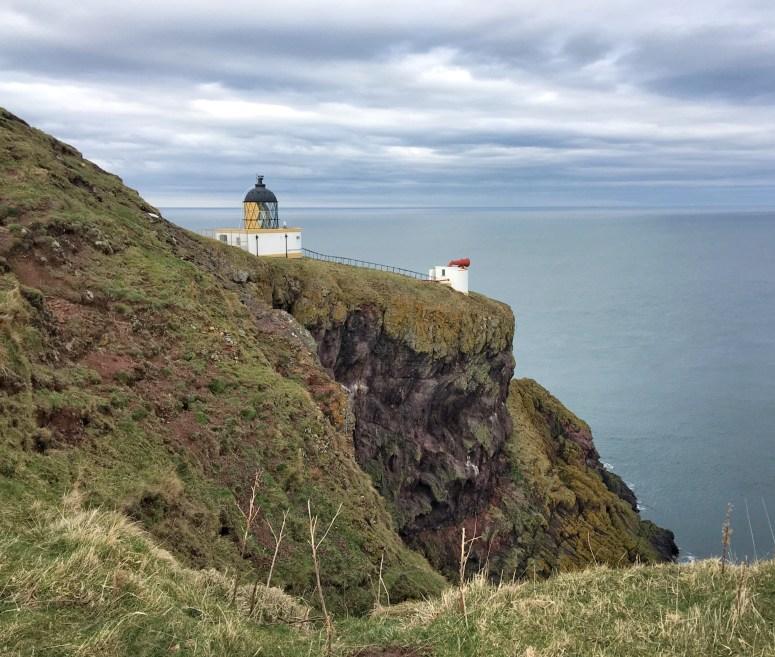 St Abbs Lighthouse, Scottish Borders