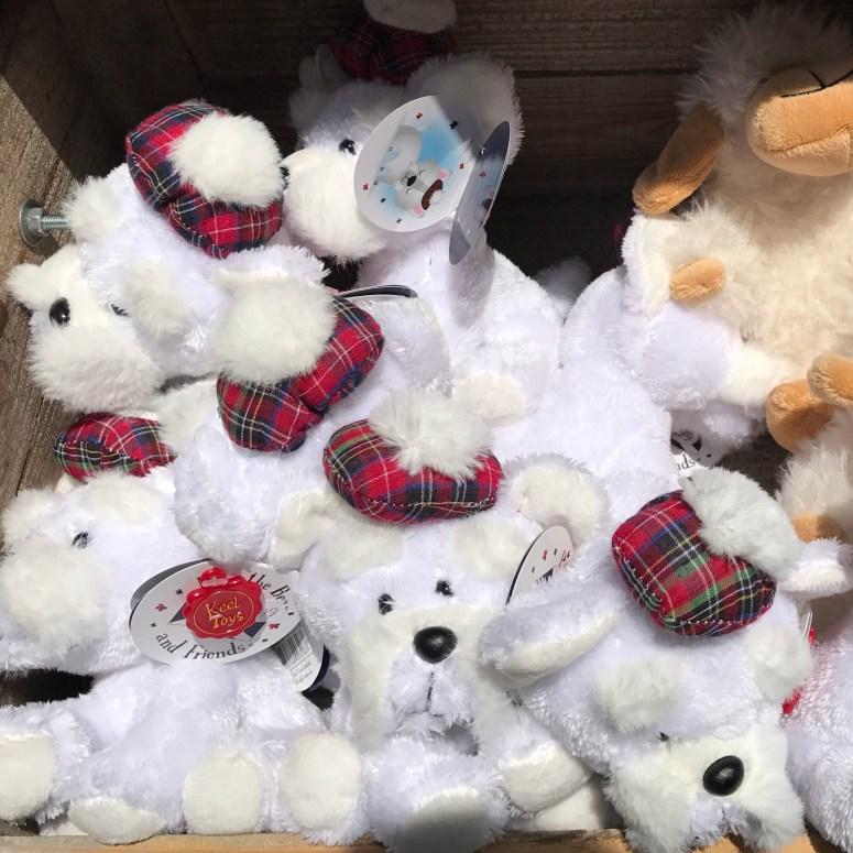 Westie toys, Edinburgh
