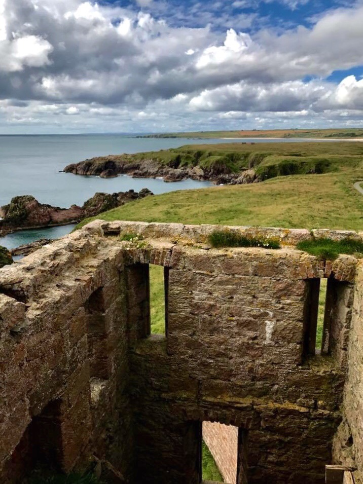 Slains Castle, Aberdeenshire Coastal Trail