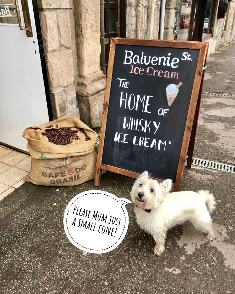 Balvenie Street Ice Cream